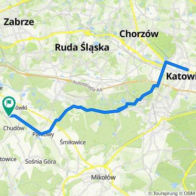 🚴🏼♂️ Katowice ➡️ Zamek w Chudowie / przez Lasy Panewnickie