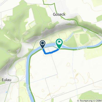 Route nach Oeblitzschleuse 55, Schönburg