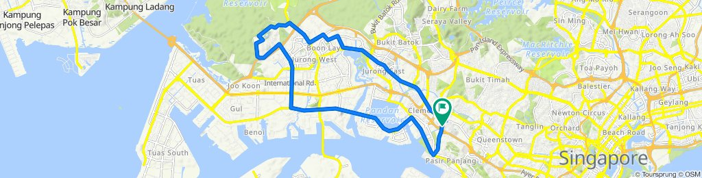 YNCycling/Abdul NTU Route
