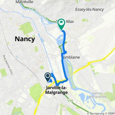 De 12 Rue de Bonsecours, Nancy à 13bis Rue de Landerneau, Tomblaine