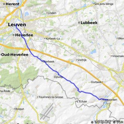 Leuven - Hoegaarden