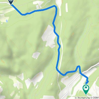 D56, Allan nach 1265 Route d'Allan, Réauville