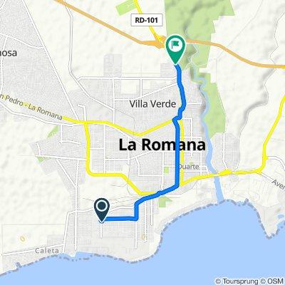 De Unnamed Road, La Romana a 101, La Romana