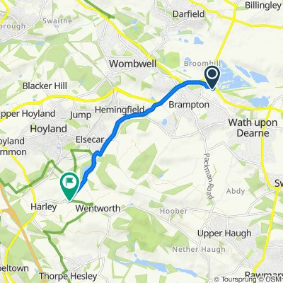 Manvers Way, Rotherham to Barrow Hill, Rotherham
