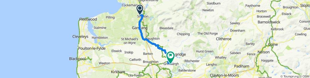 The Beeches, Station Lane, Preston to 169 Preston Road, Preston