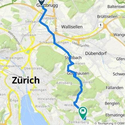 Sägereistrasse 25, Glattbrugg nach In der Deisten 6, Zollikerberg