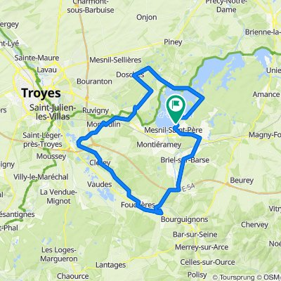 Lusigny-sur-Barse Cycling