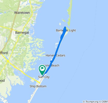 285 N 13th St, Surf City to 285 N 13th St, Surf City