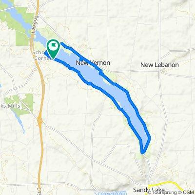 1204–1230 Creek Rd, Sandy Lake to 1204–1230 Creek Rd, Sandy Lake