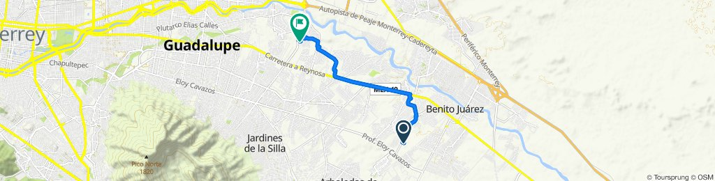 De La Bamba 109c a Avenida Maestro Israel Cavazos Garza 29, Guadalupe
