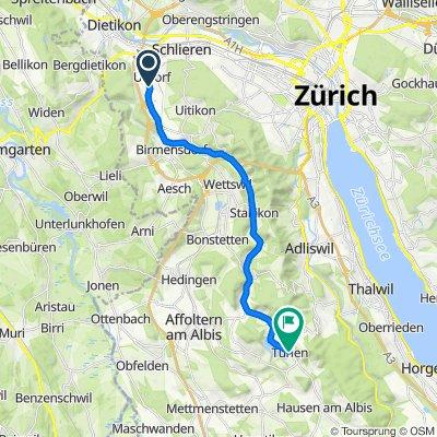 Bachstrasse 17, Urdorf nach Türlen 7, Hausen am Albis