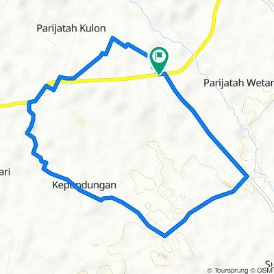 Jalan Banyuurip, Kecamatan Srono to Jalan Banyuwangi, Kecamatan Srono