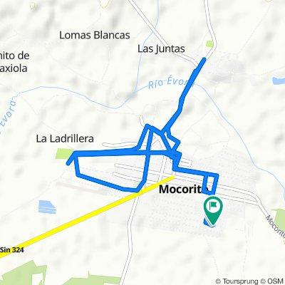 De Calle General Lázaro Cárdenas 115, Mocorito a Calle Enrique González 84, Mocorito
