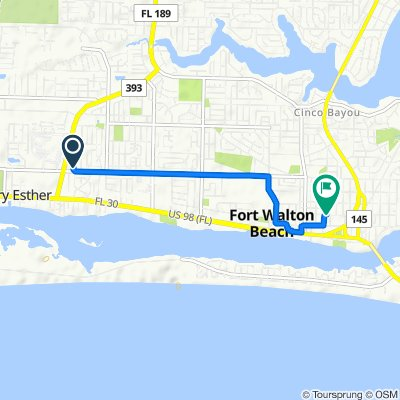 251 Mary Esther Blvd, Mary Esther to 101 Second St SE, Fort Walton Beach
