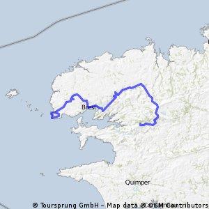 Tour de Bretagne Etape 2 : Le Conquet - St Léger