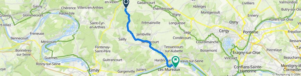 De 19 Rue Plancouard, Wy-dit-Joli-Village à 62–64 Rue Pierre Curie, Les Mureaux