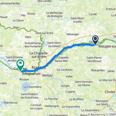 Loire a velo - Etape 4