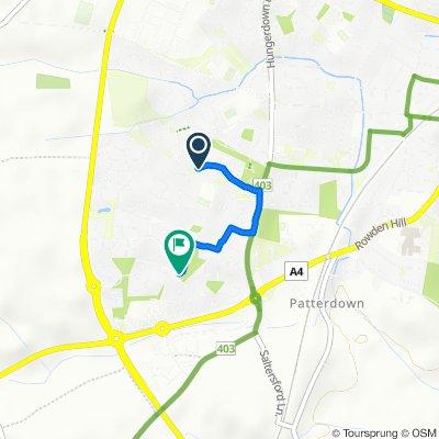 42–44 Queens Crescent, Chippenham to 14 Goodwood Way, Chippenham