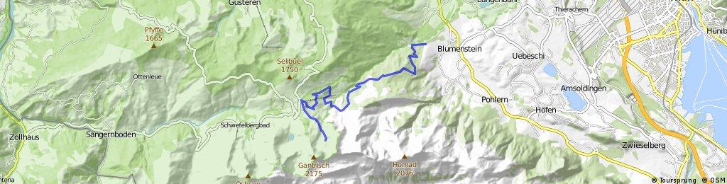 Blumenstein - Gantrisch - retour