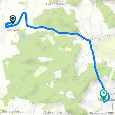 Am Graben 8, Halfing nach Almertsham 6A, Höslwang