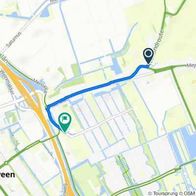 Zestienroeden, Heerenveen naar Domela Nieuwenhuisweg 3–5, Heerenveen