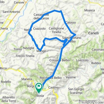 Flat route in Langa