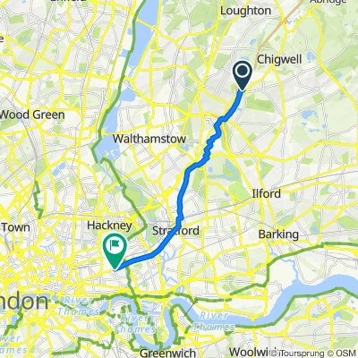 38 Latchingdon Gardens, Woodford Green to 235 Mile End Road, London