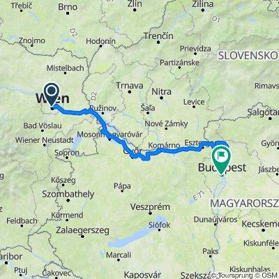 EV06 Vienna-Budapest