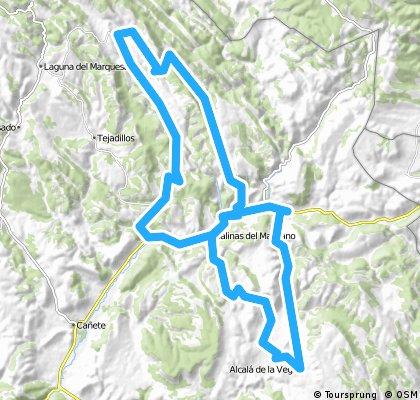 El Cubillo-Salinas del Manzano-Zafrilla- Salvacañete-El Cubillo CLONED FROM ROUTE 711271