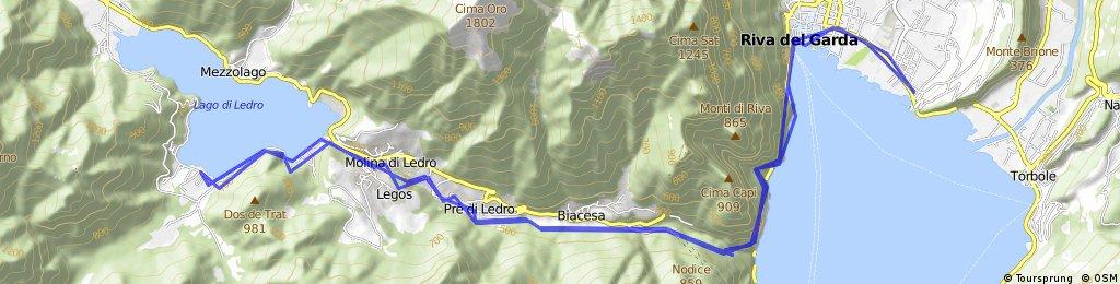 Riva del Garda -> Lago di Ledro