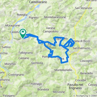 MTB Contrario Prignano- Pompe- Monfestino
