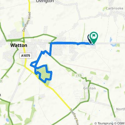 Watton home to wayland Woods.