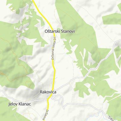 R 31: Rakovica – Oštarski Stanovi – Rakovičko Selište