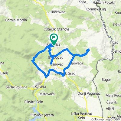 R 33: Rakovica – Jelov Klanac – Selište Drežničko – Čatrnja – Drežnik Grad – Lipovača – Grabovac – Brajdić Selo