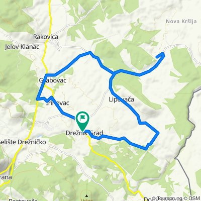 R 37: Drežnik Grad – Sadilovac – Lipovača – Nova Kršlja – Grabovac – Irinovac