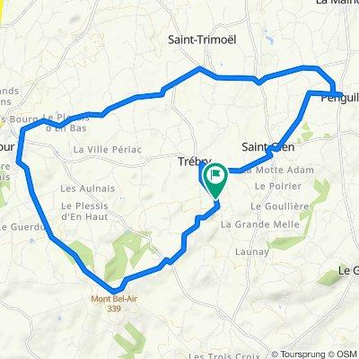 De Le Bos Marqué, Trébry à Le Bos Marqué, Trébry
