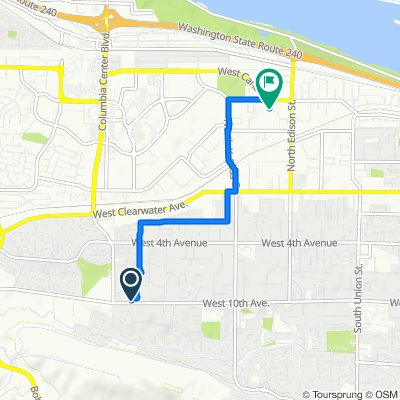 900–998 S Young St, Kennewick to 1123 N Grant Pl, Kennewick
