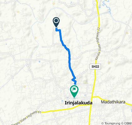 Chemmanda Road to Irinjalakuda Main Road