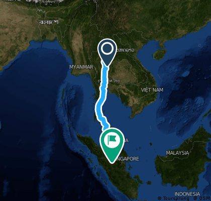 thailande malaisie