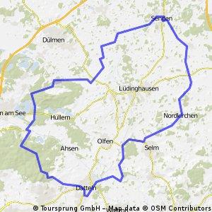 Haard-Borkenberge-Senden-Nordkirchen