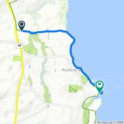 20 Anita Street, Redland Bay to 9 Meissner Street, Redland Bay