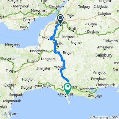 Day 4 - Bristol to Weymouth