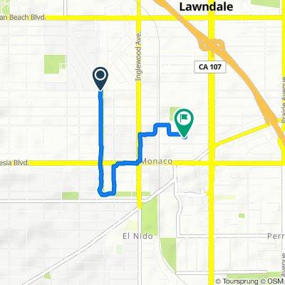 2502 W Robinson St, Redondo Beach to 4528 W 171st St, Lawndale