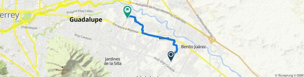 De Avenida Mision, Juárez a Río Marcela 329, Guadalupe