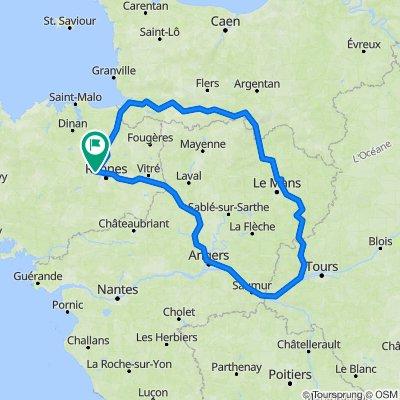 De La Monneraye, Pacé à La Houlleraye, Pacé