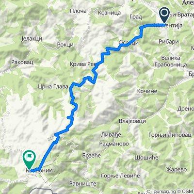 TDK2.0 - Kriva Reka climb