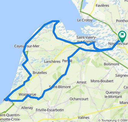 De 65 Rue du Général de Gaulle, Noyelles-sur-Mer à 65 Rue du Général de Gaulle, Noyelles-sur-Mer