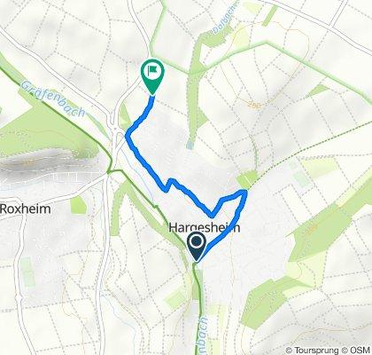 Lindenstraße, Hargesheim nach Paul-Klee-Straße 30–32, Hargesheim