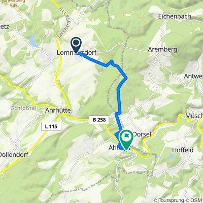 Tag 5 01 Lommersdorf bis Fringsmühle