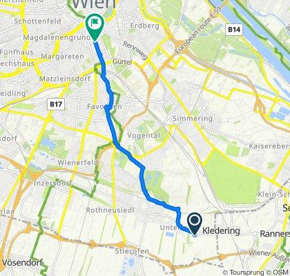Klederinger Straße 79-81/38, Wien nach Argentinierstraße 25-27, Wien